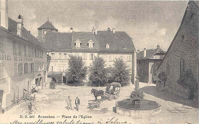 avenches1900placeeglise